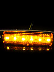 12v 6LED Auto LKW Anhänger Lastwagen Seitenmarkierungsleuchtanzeige len sidelamp neue