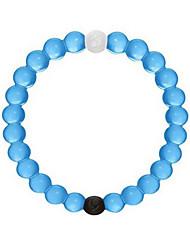 pulsera de silicona, azul