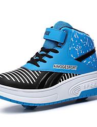 Sapatos Skateboard Feminino / Masculino / Para Meninos / Para Meninas Azul / Rosa Sintético