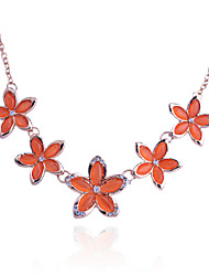 Jewelry Statement Necklaces Party / Daily / Casual Alloy / Opal 1pc Women Wedding Gifts