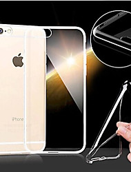 For iPhone 6 Case / iPhone 6 Plus Case Ultra-thin / Transparent Case Back Cover Case Solid Color Soft TPUiPhone 6s Plus/6 Plus / iPhone