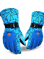 AT8820 Blue Geometry Gloves