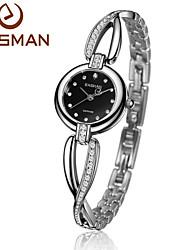 EASMAN Women Watch Crystal Bracelet Natural Seashell Dial Quartz Watch Sapphire Glass Female Wrist watch