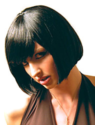 New Arrival Natural Color Syntheic Wig Top Quality Women Lady Bang Of Wigs