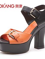 Aokang® Women's Leather Sandals - 132818093