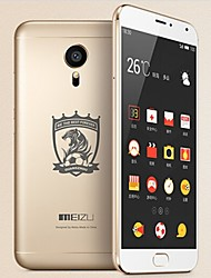 "MEIZU Straight 5.5 "" Android 5.0 4G Smartphone (Dual SIM Octa Core 20.7MP 3GB + 16 GB Gold)"