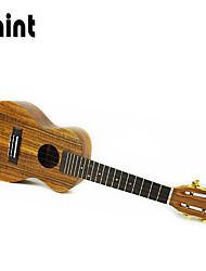 mint® acácia folheado praia marrom ukulele concerto + pacote-mc70v