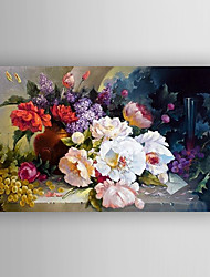 Oil Painting  Flowers and Fruits Painting Hand Painted Canvas with Stretched Framed Ready to Hang