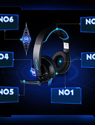 G6200 Vibration Headset USB 7.1 -Channel Computer Games Heavy Bass head-Mounted Headset with Microphone