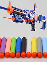 100 pezzi 7,2 centimetri nerf n-strike artificieri serie furia elite retaliator ricarica clip di freccette soft bullet