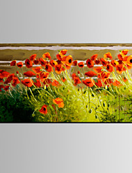 IARTS®Nice Color Red FLower Landscape Handmade Oil Painting New Designs for Warm House
