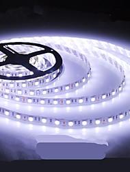 LED Light Strip Light-emitting Diode 5050SMD 150LED Waterproof/IP44 White Light DC12V 5M/Lot
