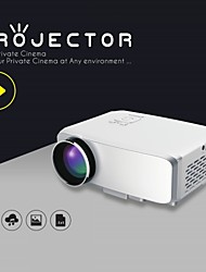 ViviBright® EMP Portable Micro led Projector GP9S,800/640*480Pixels,Dynamic Video 1080P/4K Ready for Game