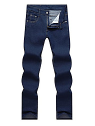 Men's Mid Rise Jeans , Cotton / Denim Jeans Casual Pocket Spring / Fall D&D