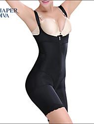 Shaperdiva Women's Bodysuit without Bra Full Body Shaper Best Shapewear with Zipper