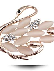 Fashion Accessories Clothing Accessories Opal Wedding Dinner Swan Brooch