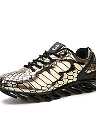 Rennen Herren Schuhe Kunststoff Schwarz / Silber / Gold