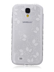 verlässt tpu Ledermaterial Flip-Karte für Samsung-Galaxie S3 / s3mini / S4 / s4mini / S5 / s5mini / S6 / s6edge / s6edge +