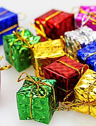 (Christmas) Colorful Small Package 3cm (Set of 12 Random Distribution)