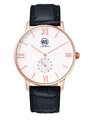 AIBI® Men's Fashion Watch Water Resistant/Water Proof Charles Florida Rose Gold Black Wrist Watch For Men Cool Watch Unique Watch With Watch Box