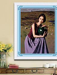 diamantes segurar cerâmica pintura pintura ocidental adesivos fêmea cheia de diamantes da broca de pontos pintura decorativa cobertura