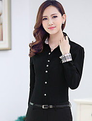 Women's Inner Warm Shirt wear finish Professional dress shirt Women's Bunisses shirts 7 Colors to chose Size S-XXXL