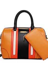 Schoudertas / Draagtas / Kaart/pasjeshouder / Muntenportemonnee / Polstasje / Make-uptasje / Mobile Phone Bag -Roze / Geel / Oranje /