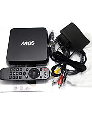 Android 4.4 TV Box Quad Core 2G/8G 5.0G/2.4G Bluetooth 4.0 Smart Media Player with Remote Controller