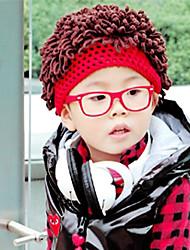 Children's Fashion Curly Hair Knit Cap