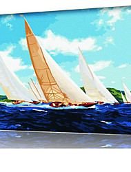DIY digitales Ölgemälde Frame Familie Spaß Malerei alle von mir joomla x5019