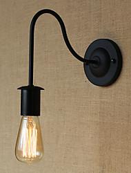 AC 100-240 / AC 220-240 40 E26/E27 Campestre Pintura Característica for Bombilla Incluida,Luz Ambiente Candelabro de pared Luz de pared