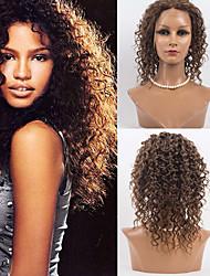 14inch Full Lace Hair Wigs 100% Human Hair Deep Wave Hair Wigs Mongolian Virgin Hair  Wigs for Women