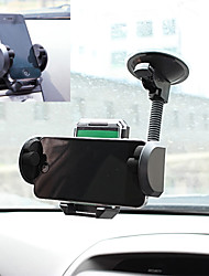 LEBOSH Mobile Phone Horder GPS Bracket Adjustable 360 Degree Air Outlet / Sucker