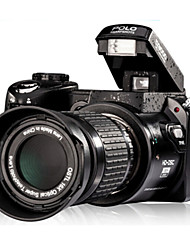 "digitale slr camera upgradeversion 16MP 3,0 ""LCD Full-HD met 16x optische zoom telelens brede engel lens dslr camera"