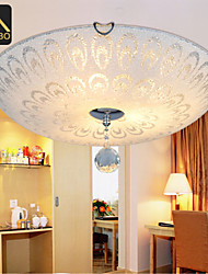 Modern LED Crystal Ceiling Light 40cm Round Design With Glass Cover For Bedroom Lighting (ADB386-40)
