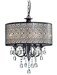 MAX:60W Chandelier ,  Traditional/Classic Painting Feature for Crystal Metal Bedroom / Dining Room / Entry