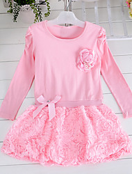 Kid's Dress , Cotton Casual / Cute / Party NewyearKids