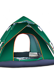 The Latest 3-4 Hydraulic Quick Opening Double Rainproof Outdoor Camping Tents Camping