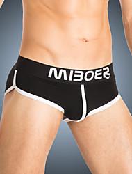 Men's Cotton / Polyester Briefs Underwear
