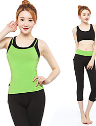Others ® Yoga Clothing Sets/Suits Yoga Pants + Yoga Tops Breathable / Lightweight Materials Stretchy Sports Wear