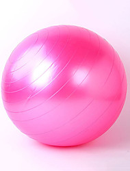 Also Kang Unisex Fitness Ball PVC 0.45 M Yellow / Green / Red / Pink / Blue / Purple/ Silvery