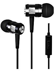 qualitativ hochwertige Stereo-Headset in Ohr Metallkopfhörer-freihändiger Kopfhörer mit mic 3.5mm Ohrhörer für Samsung-S4 / S5