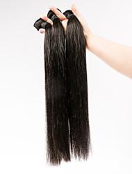 3pcs/lot 20inch Human Remy Hair Silk Straight Hair Weft Mongolian Virgin Hair Extensions 100% Human Hair Weaves