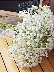 6 Branch White Gypsophila Repens Artificial Flower