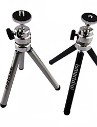 ismartdigi iR-11-BK 2 layer (High 15cm/Low 8cm) 3-Section Camera Tripod (Black/Sliver)