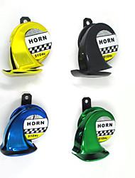 12V Snail Motorcycle Horn Enhanced Treble Moped Scooter Dirt Bike Speaker Tone 510HZ Car Sound Air Horn