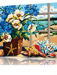 DIY digitales Ölgemälde Frame Familie Spaß Malerei alle von mir Guihai x5057