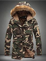 Повседневный - MEN - Пальто и жакеты ( Хлопок Толстовка - Длинный рукав