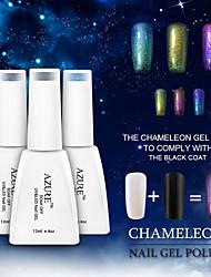 Azure Beauty 3D Colorful Phantom Nail Gel Polish Chameleon Gel UV Gel Color Changing Polish