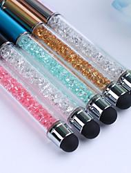 1pcs de uñas de diamante esmalte de uñas pluma uñas molienda Jiashi naturales (5 color opcional)